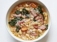 "Giada's ""House"" Soup Recipe : Giada De Laurentiis : Food Network. Subtracting the meat"