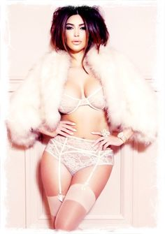 Kim Kardashian once again flaunts her curves and poses in designer lingerie for French publication Factice Magazine. Kim graces the cover of the issue 16 of. Sexy Lingerie, Lingerie Plus Size, Lingerie Shoot, Vintage Lingerie, Bridal Lingerie, Gorgeous Lingerie, Vintage Underwear, Bridal Boudoir, Vintage Glam