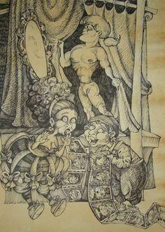 Mozart Don Giovanni by balgeza on DeviantArt My Drawings, Vintage World Maps, Organic, Ink, Deviantart, Paper, Illustration, Nature, Naturaleza