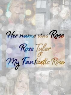 :( Rose Tyler and The Tenth Doctor
