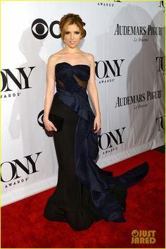 Anna Kendrick - Tony Awards 2013 Red Carpet