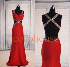 Hey, I found this really awesome Etsy listing at https://www.etsy.com/listing/202414973/red-mermaid-sexy-beaded-long-prom