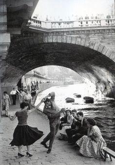 Paris. Dancing. 1950's.