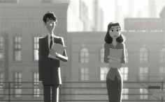Need something extra sweet this morning? Watch 'Paperman', An Oscar Nominated Short Film by Disney.