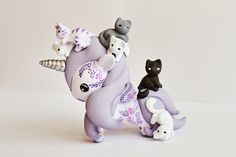 Mijbil Creatures | RESERVED Tokidoki Unicorno Art Toy - Kittens ...