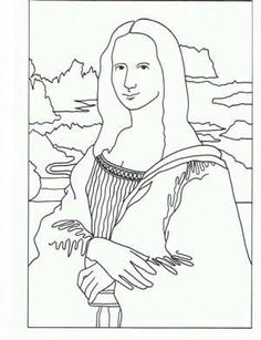 Free Art Coloring Pages MuseumChick Danee Sarman