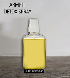 DIY Natural Armpit Detox Spray - cleanse your armpits ◾You will notice less odor. ◾You will notice less sweat. ◾You will not have any rashes problem as it is natural. ◾No side effects and safe for skin. ◾Armpit will not turn dark ◾You save Money. 2 recipes, one with magnesium oil and one with coconut oil