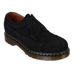 Dr. Martens Womens Shoes 1461 Wing Tip Black Cheap    Color: Black  Material: Leather      * Part of the Classic collection which is recognised worldwide for uncompromising looks, durability and comfort  *5 Eyelet 1461 Shoe  * Smooth is the classic Dr. Martens leather; durable, with a smooth finish  * Made with Goodyear welt, the upper and sole are heat-sealed and sewn together