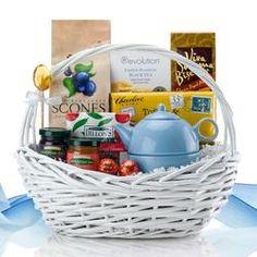 Scones and Tea Gift Basket  $64.99 #pintowinGifts & @giftsdotcom