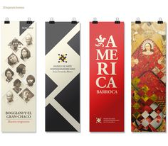 Museo de Arte Hispanoamericano by Valeria Ruiz-Schulze, via Behance
