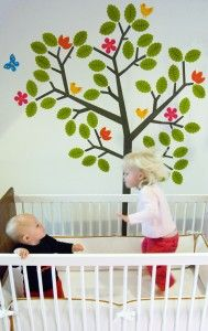 Tree Wall Decal. Forest Theme