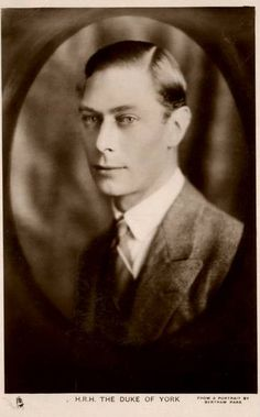Albert, Duke of York, future King George VI. Of Britain | Flickr - Photo Sharing!