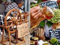 Marienfest und Volksfest mit Bauernmarkt in Casamaccioli im Niolo-Tal auf…
