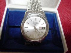Seiko アンティーク自動巻21石セイコーSportsmatic5腕時計シルバー Watch Antique ¥5000yen 〆09月26日