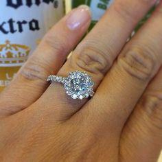 Natalie Nunns wedding ring upgrade 2 yr anniversary upgrade