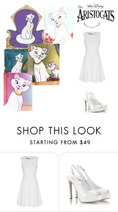 """""""Duchess from """"The AristoCats"""""""" by andyarana ❤ liked on Polyvore featuring Disney, True Decadence and Fratelli Karida"""