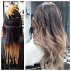 An amazing Ombre Refresh & Haircut by Artistic Stylist Moya! Make your appointment with her for your next transformation! 714.952.2030