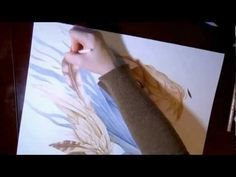"""Art of colored Faber-Castell Polychromos colored pencils """"Time Lapse"""""""