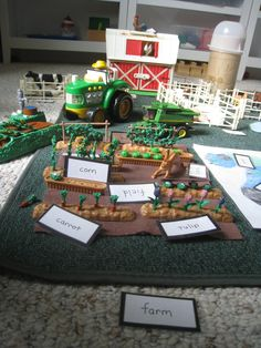 Montessori Grammar Farm (Photo from What DID We Do All Day?)