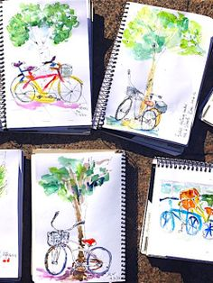 TuesNew2- Erin Hill Sketching Studio- interesting business...and beautiful work.