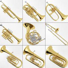 musical instraments | brass musical instrument collection brass musical instrument ...