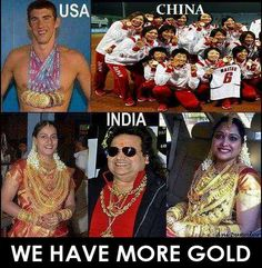 We Have More Gold ~ Facebook Funny Pictures, Funny Images, Jokes, Celebrity Jokes, Cricket Jokes, Bollywood Jokes