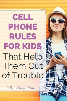 Cell phone rules for kids are essential to their safety & wellbeing. If you've spent any length of time around a kid between the ages of about 8 - 17, you know as well as I do that they are practically attached to their phone (or iPod) 24 hours a day.