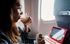 Why You Should Always Order Ginger Ale on a Flight --- Ginger ale: the unsung hero of the sky. Ginger Drink, Remedies For Nausea, Health Benefits Of Ginger, Cocktail Mixers, Travel And Leisure, Travel Tips, Air Travel, Travel Stuff