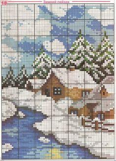 Coisinhas... By Paty De Rosa: LAR DOCE LAR! Cross Stitch Bookmarks, Cute Cross Stitch, Cross Stitch Charts, Cross Stitch Designs, Cross Stitch Patterns, Cross Stitching, Cross Stitch Embroidery, Embroidery Patterns, Cross Stitch Geometric