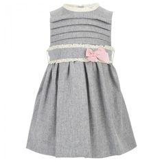 Mayoral Grey sleeveless pinafore dress