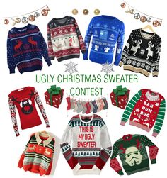 EBANY RENEE'S UGLIEST CHRISTMAS SWEATER CONTEST