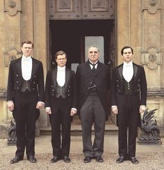 "Alfred Nugent (Mat Milne) - - James ""Jimmy"" Kent (Ed Speleers) - - Mr Carson (Jim Carter) - - Thomas Barrow (Rob James Collier) - - Downton Abbey"