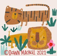 "Dawn Machell on Instagram: ""iPad faffery ➡️ sketchbook faffery #weekendmood #theresnothingelsetodo #lionsandtigers #procreatedrawing"" Ipad, Create Drawing, Tiger Art, Jungle Animals, Dawn, Tropical, Kids Rugs, Symbols, Letters"