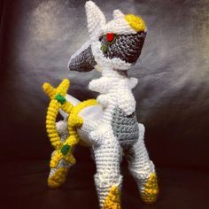 Arceus Crochet by SirPurlGrey