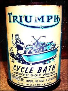 Motorcycle engine degreaser