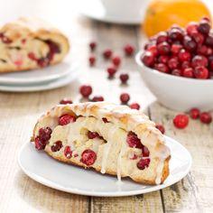 Fresh Cranberry Scones {Sweet Pea's Kitchen}