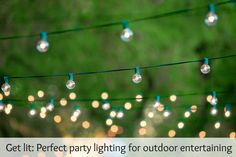 Take it outside with these great ideas!