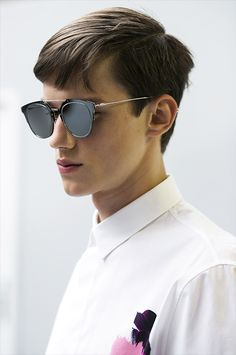 Yulian Antukh - backstage at Dior Homme ss 15 Ray Ban Sunglasses Sale,  Sunglasses Outlet af113c591807