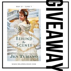 Giveaway at Relz Reviewz: Behind the Scenes by Jen Turano #BookGiveaway