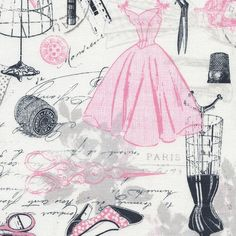 Fabric... Vintage Dressmaking by Timeless Treasures