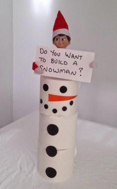 Build a Snowman Forzen fans are melted with this adorable gesture of ELF, who wants to build a snowman.