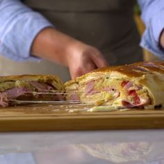 If you're a fan of warm ham and cheesy goodness, you'll love this.