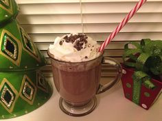 IDLife Peppermint Hot Cocoa Protein Shake:  In a saucepan, heat up 8 oz of organic 1% milk, 1 scoop of IDLife Chocolate Meal Replacement Shake Mix, 1 tsp raw cacao powder, 1/2 tsp raw agave, and 1 drop of peppermint extract*. Warm until desired temp, stirring frequently. Top with light whipped cream, and a few raw cacao nibs. You can garnish this with candy canes if you want to get all fancy. Yummy!  Get your IDLife protein powder at www.idlife.com/hollywoodhealth