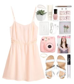 """""""We can make it till the end"""" by e-rose-t ❤ liked on Polyvore featuring H&M, New Look, Polaroid, NARS Cosmetics, J.Crew, Christian Dior, Pier 1 Imports, Chantecaille, Deborah Lippmann and Faber-Castell"""