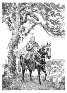 A Knight of the Seven Kingdoms (Random House), drawing by Gary Gianni http://www.gameofthronesbr.com/wp-content/uploads/2015/09/Martin_Knight7Kingdoms_title.jpg