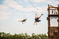 Adrenaline Adventures has built a massive outdoor ropes course and zipline! It's time for an thrilling adventure. Canada Tourism, Ropes Course, Win A Trip, Summer Bucket Lists, And So The Adventure Begins, Wakeboarding, Dream Vacations, Zip Lining, Places To Visit