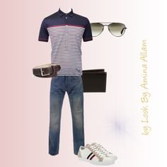 Stripes for him, created by Look by Amina Allam
