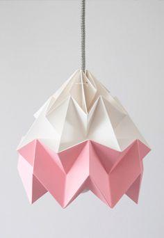 Origami Lamp Shade.