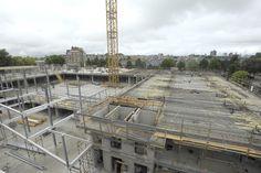 Voortgang bouw 18 juni 2014