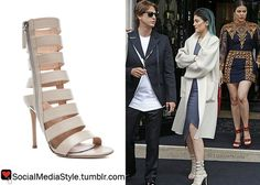 Buy Kylie Jenner's Paris Tan Sandals, here!